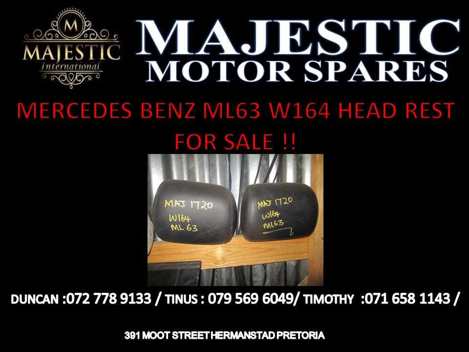 MERCEDES BENZ ML 63 W164 HEAD REST