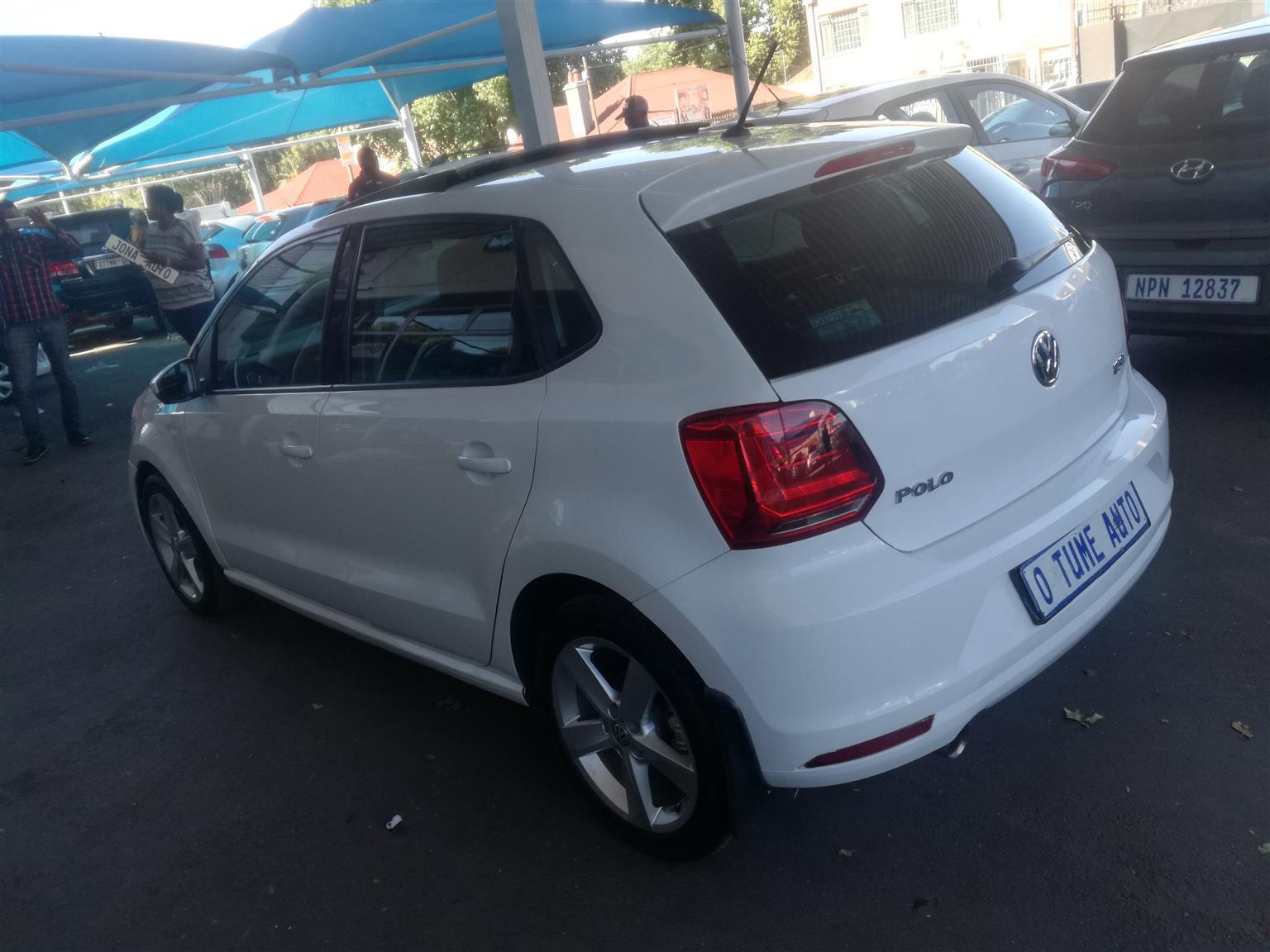 2017 VW Polo 1.2TSI Comfortline