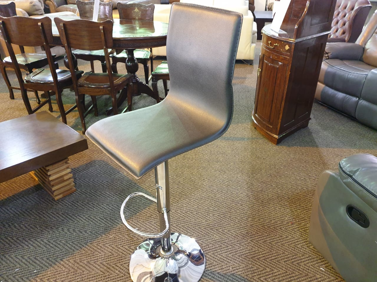 100% Genuine Full Leather Bar Chairs