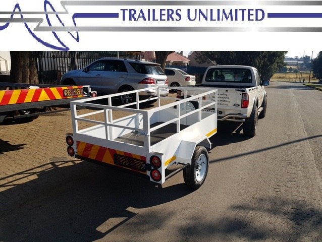 TRAILERS UNLIMITED. 2200 X 1200 X 700 UTILITY TRAILER.