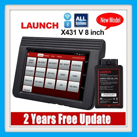 Auto diagnostic tool Full system diagnostic New Released Launch X431 V 8inch Tablet Wifi/Bluetooth