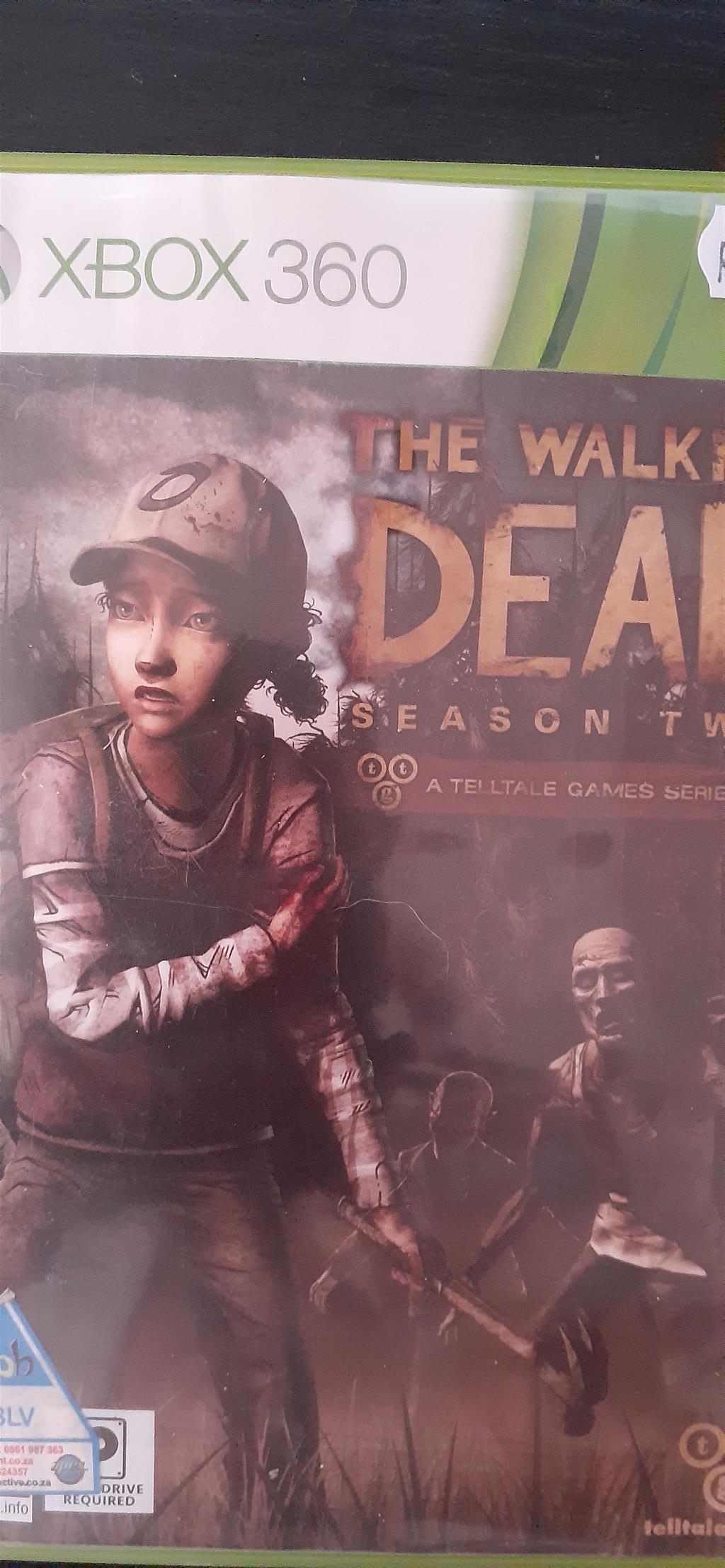Xbox 360 game - the walking dead season two