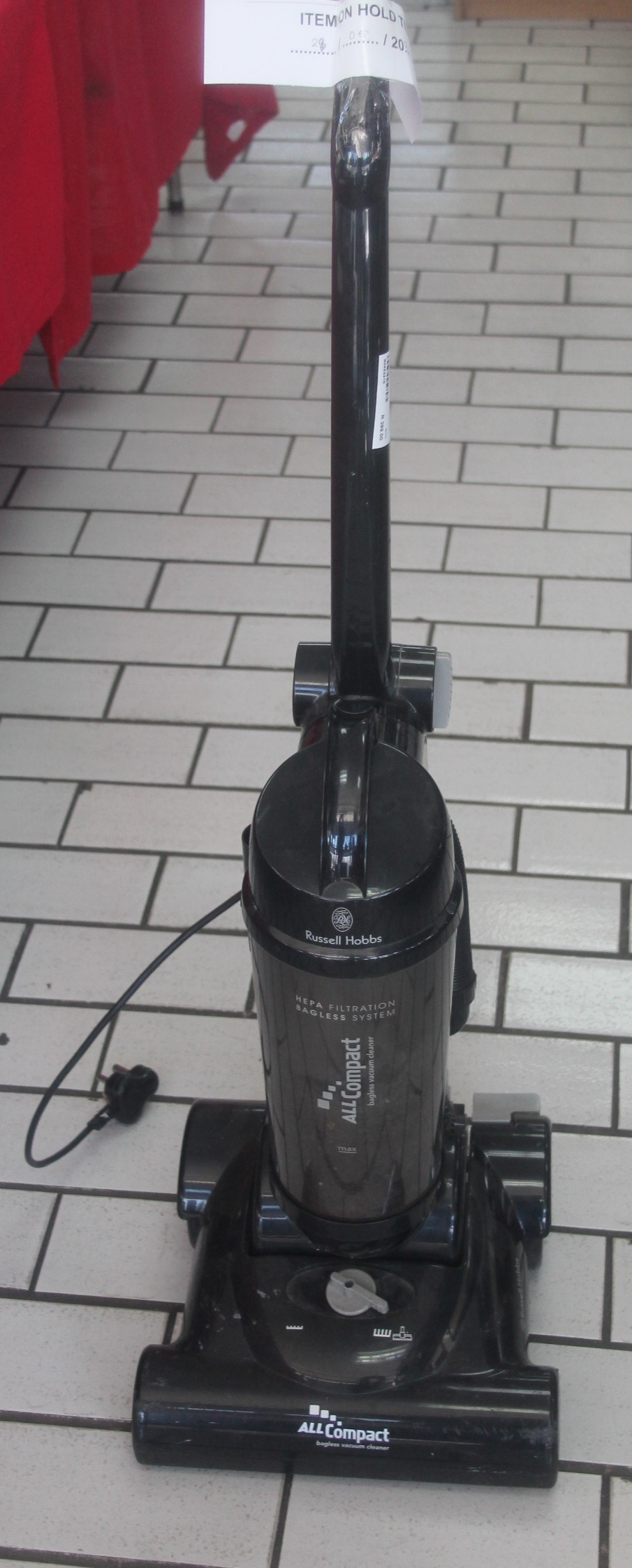 RUSSELL HOBBS RHUV23 VACCUM CLEANER S045221E #Rosettenvillepawnshop
