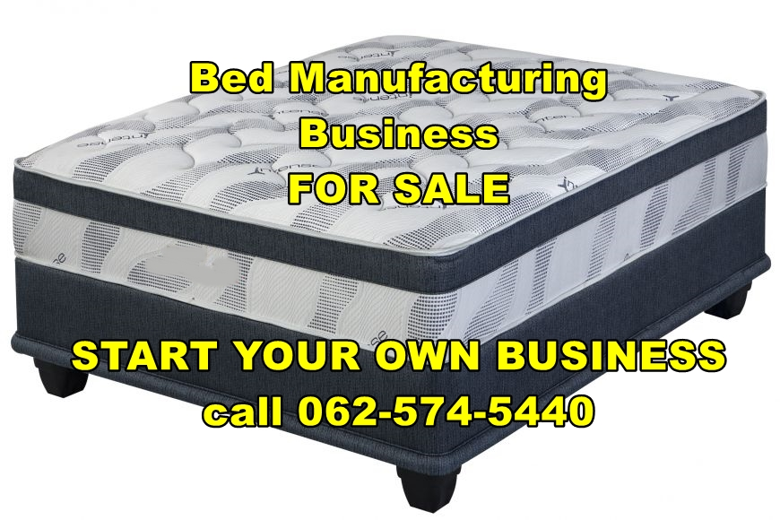 Start your own bed factory