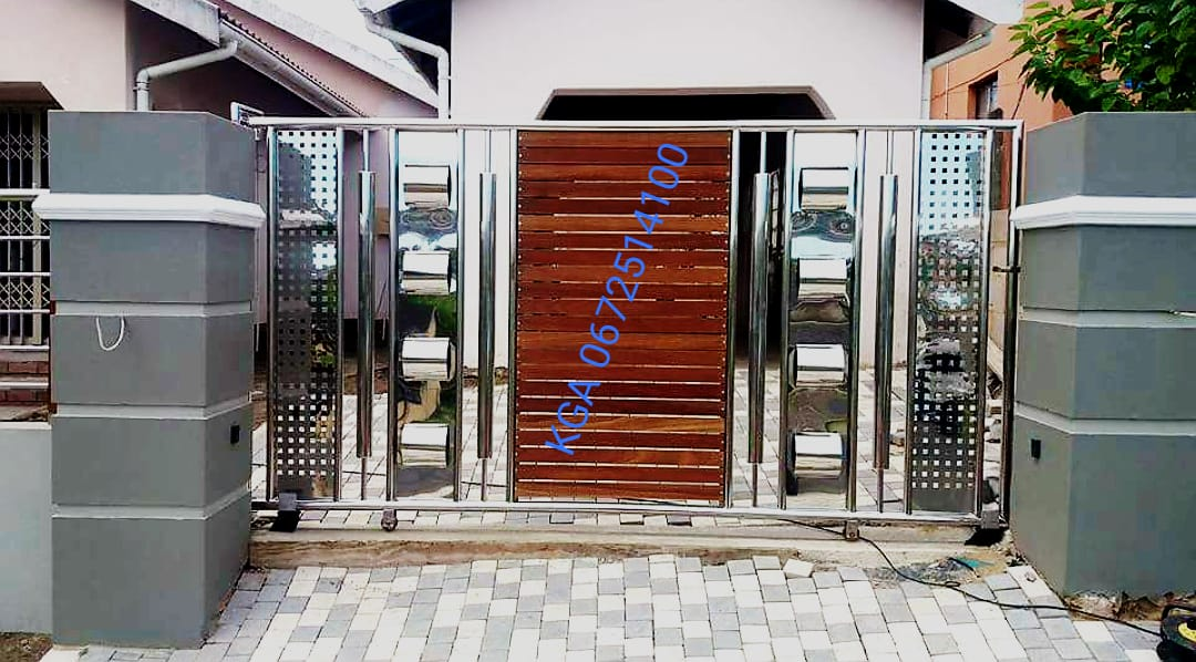 Stainless steel and mild steel gates, automation, carports ...