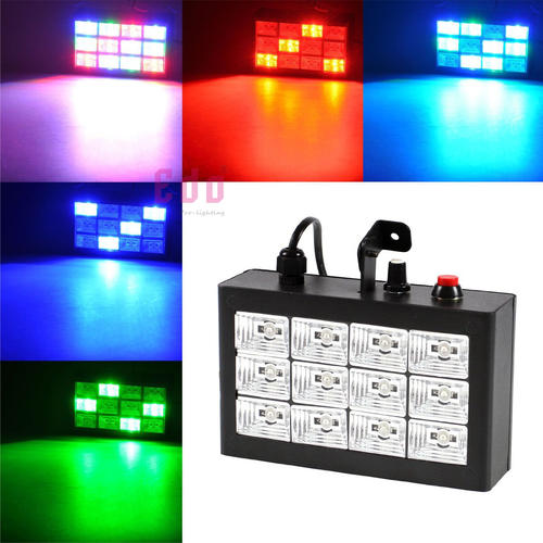 lightbox   lightbox   lightbox RGB STROBE RGB STROBE1 RGB STROBE2 PRODUCT DESCRIPTION 12 LED STROBE
