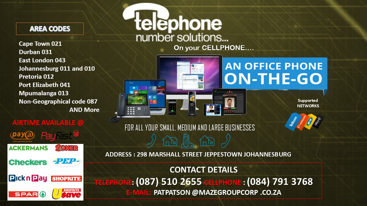011,012,021,031 etc Wireless Landlines For Sale