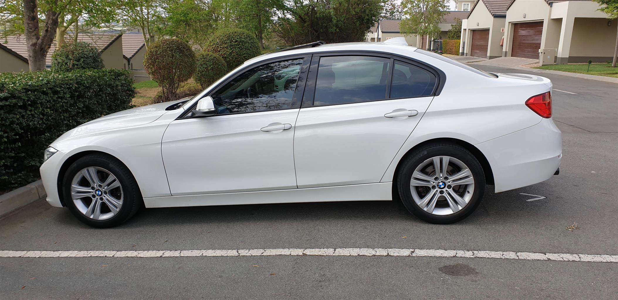 2012 BMW 3 Series 320d Sport Line sports auto