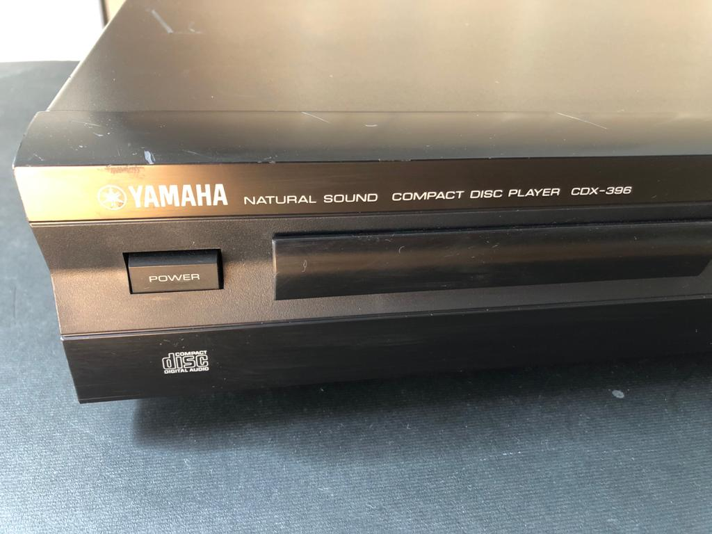 Yamaha CDX-396 Compact Disc Player - fall in love with your uncompressed music