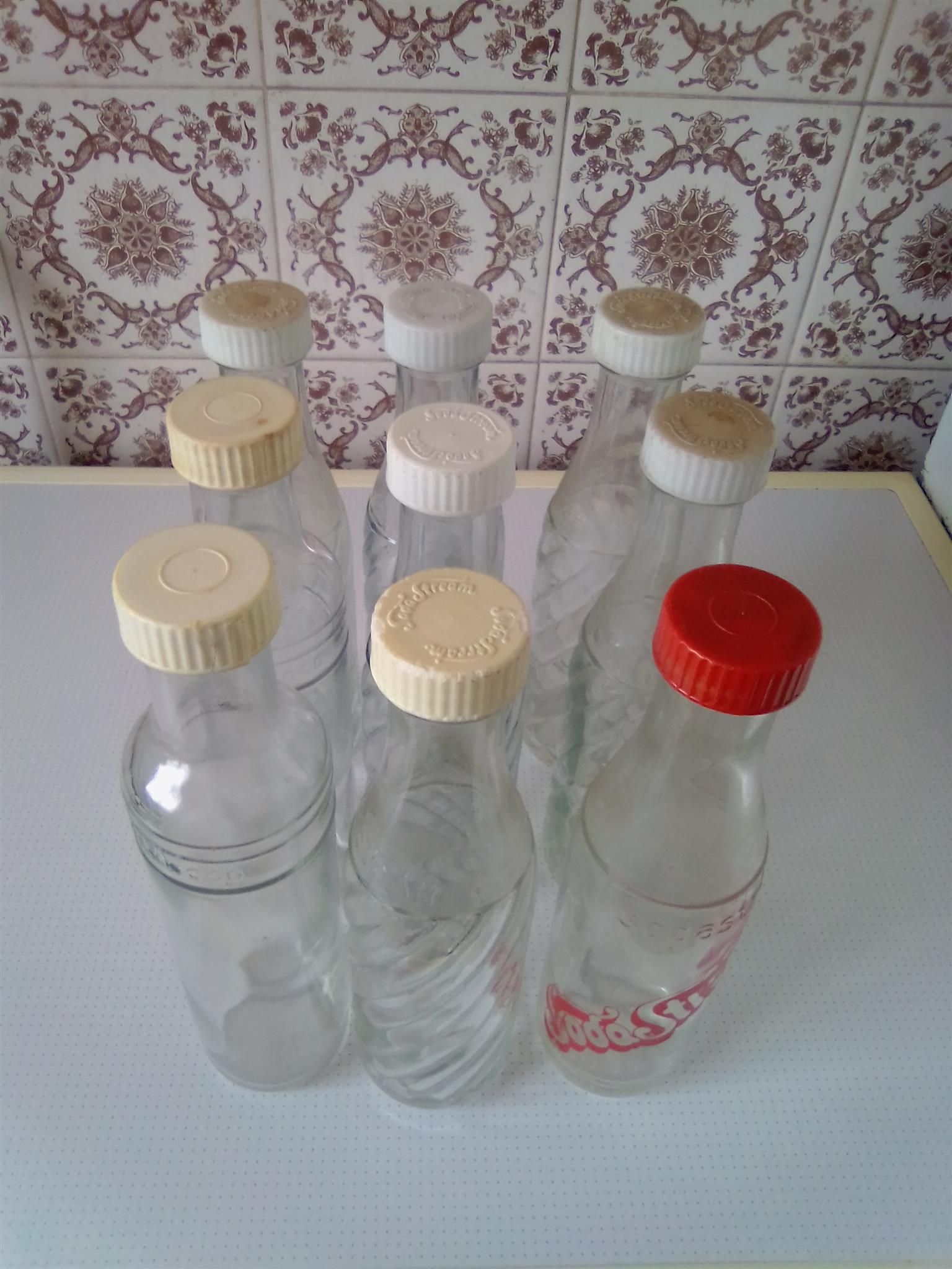 Glass Bottles for Soda Stream R75 each