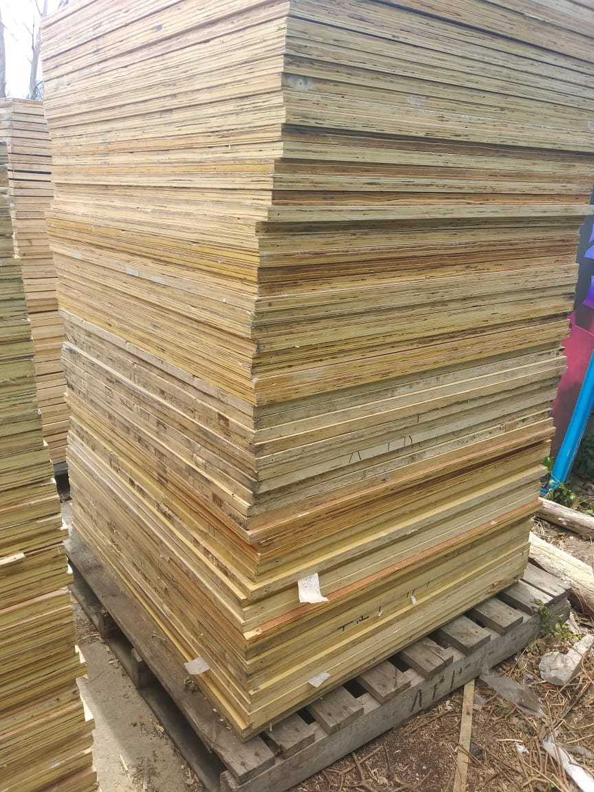 New plywood boards (marine)