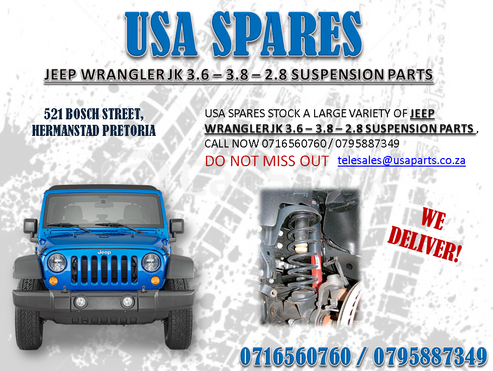 Used Jeep Wrangler Parts >> Jeep Wrangler Jk 3 6 3 8 2 8 Suspension Parts For