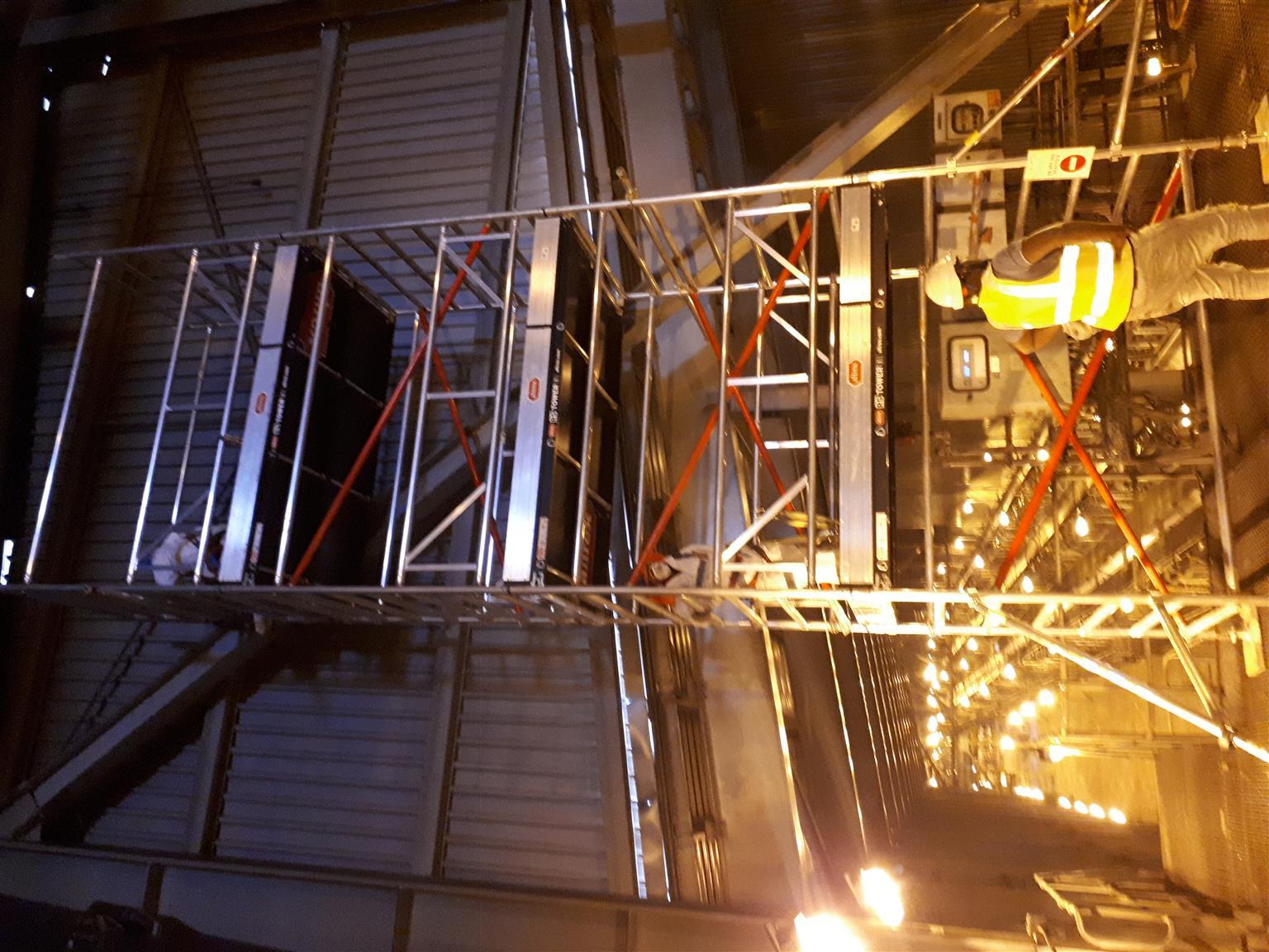Aluminium pre fabricated Scaffold Towers