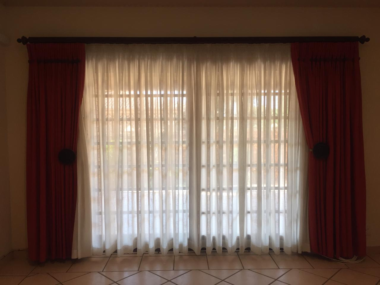 4 curtain set combo