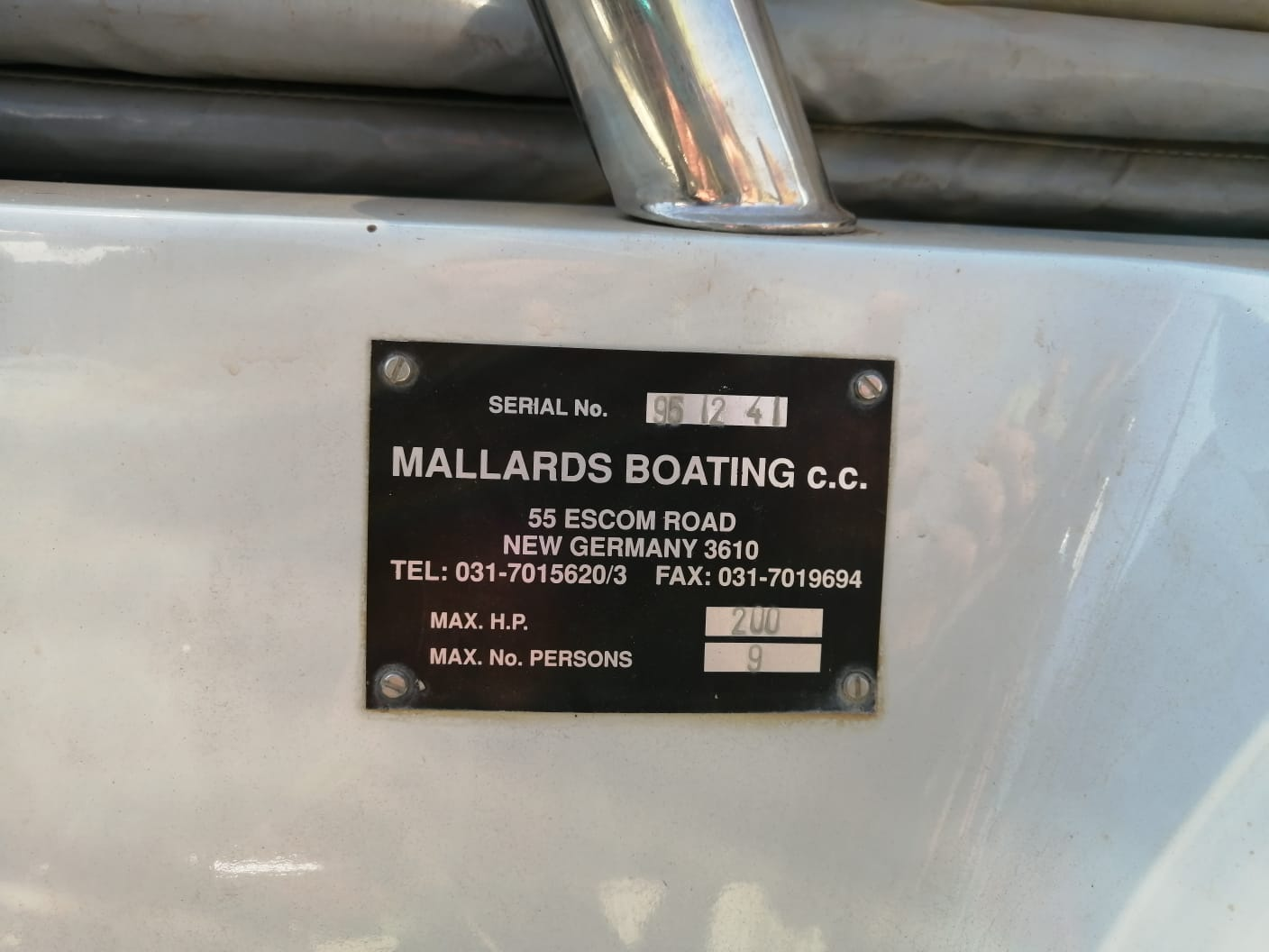 Classic 170 9 seater boat for sale