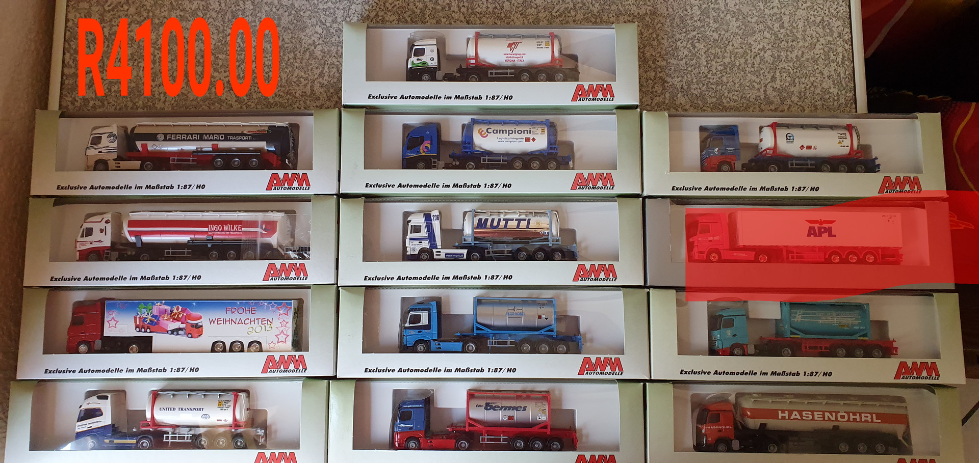 Ho scale model trucks 1:87 Ho scale all new