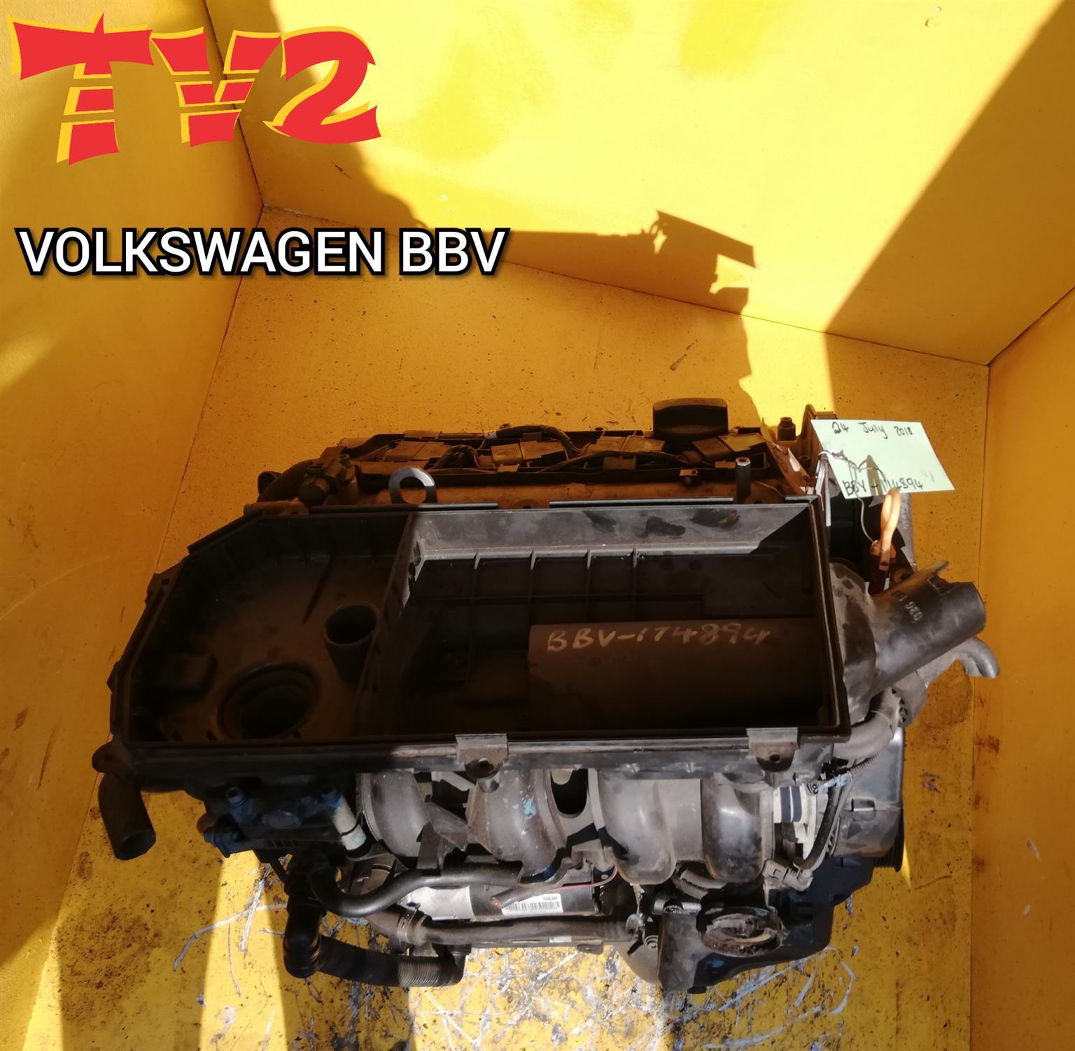 VOLKSWAGEN- BBY (ENGINE FOR SALE)