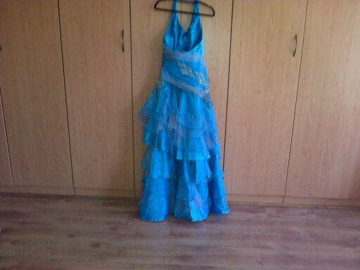 Matric Farewell dress - Blue