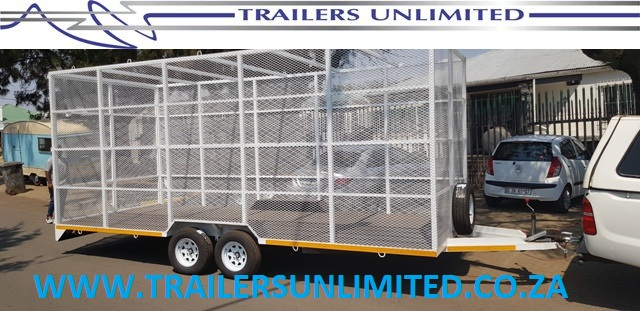 TRAILERS UNLIMITED 6000 X 2500 X 2400 RECYCLING UTILITY TRAILER. 3000KG GVM.