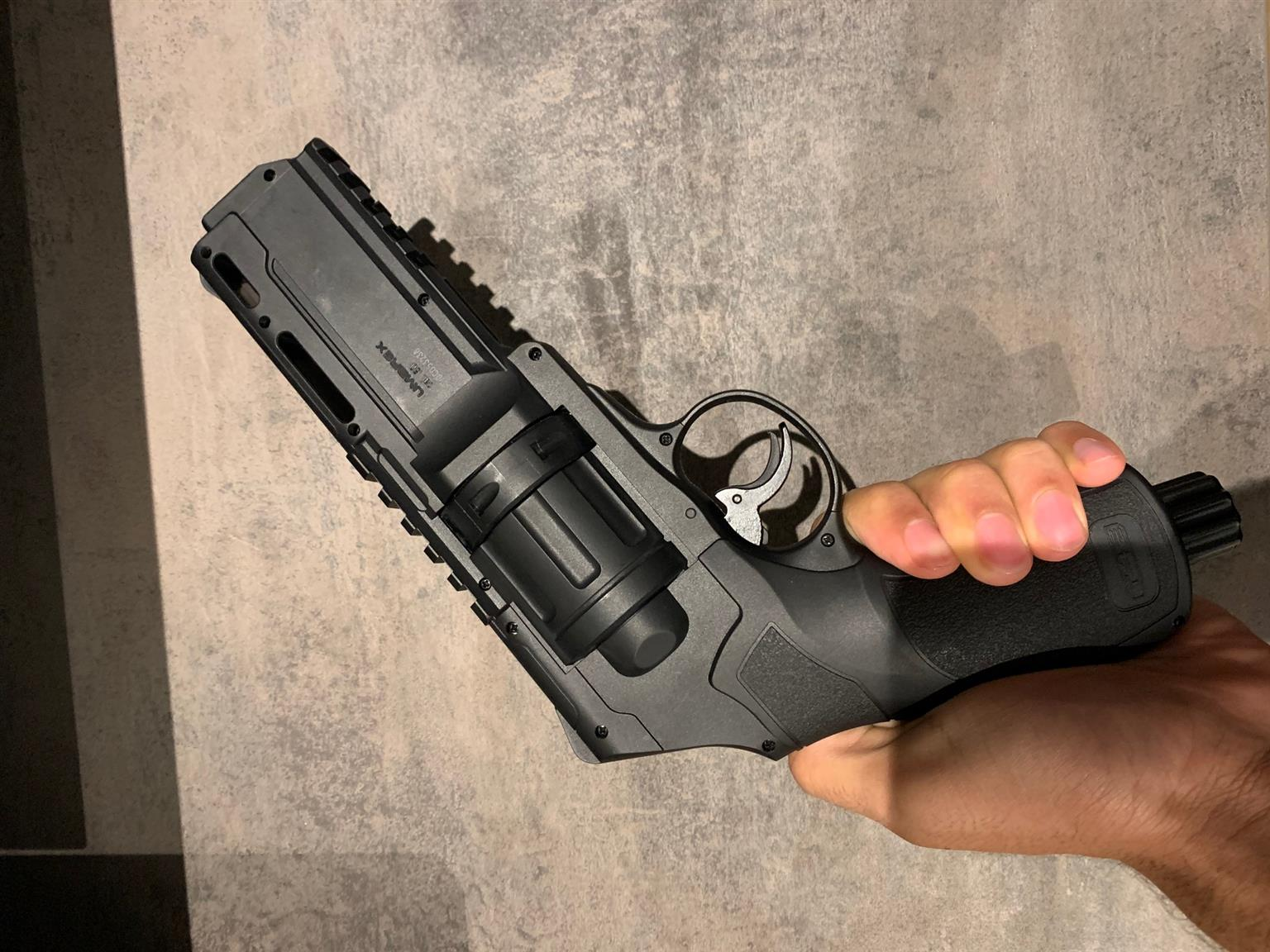Umarex T4E HDR 50 CO2 Powered Gas Revolver