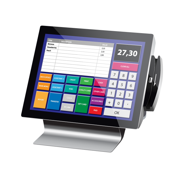 how to build a pos system in c