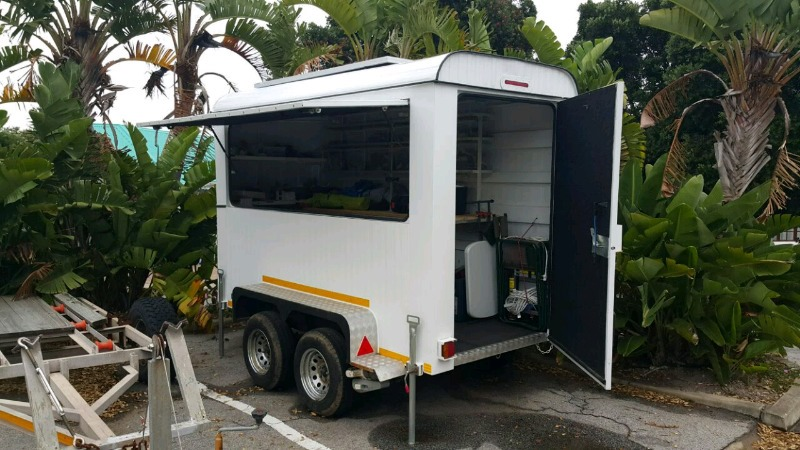 Trailer hire and builder with carport in butterworth call/whats app +27710994152
