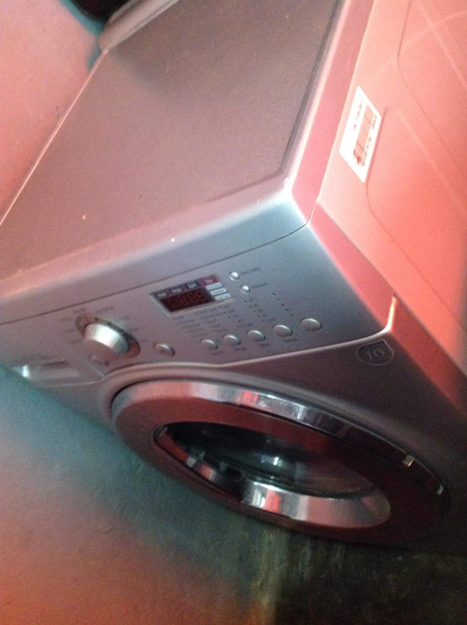 Broken washing machine for sale swop or top up