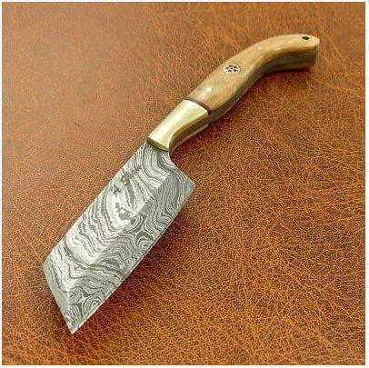 8 Inch Handmade Damascus Steel Chopping Knife