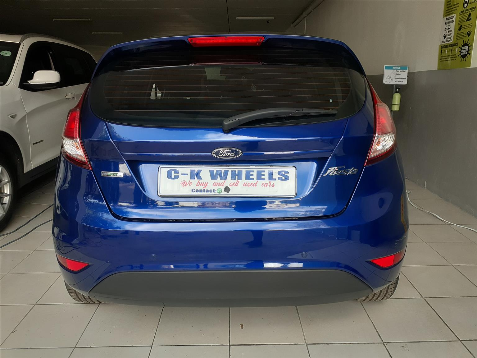 2016 Ford Fiesta 5 door 1.0T Trend