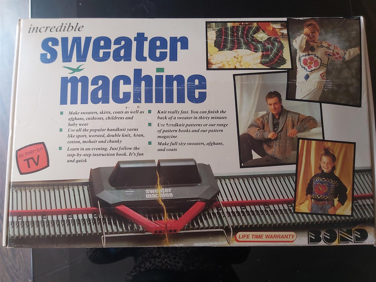 Sweater machine