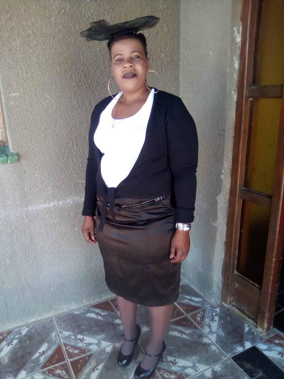 Matured and very good Lesotho baby sitter with refs needs work.