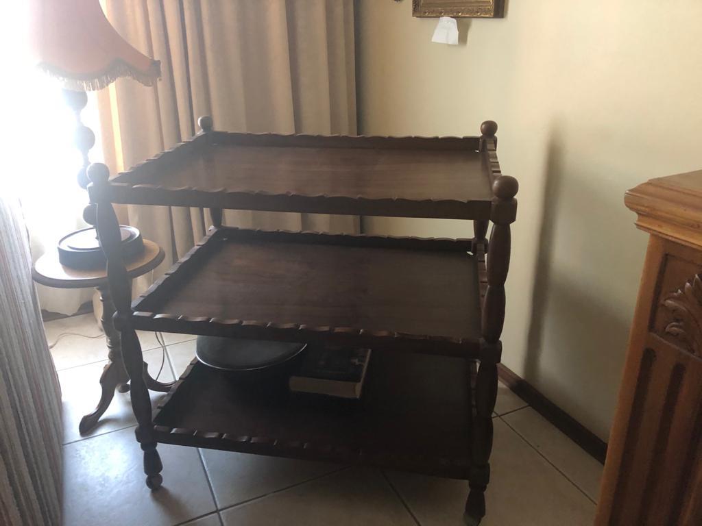 Solid wood tea trolley R1500