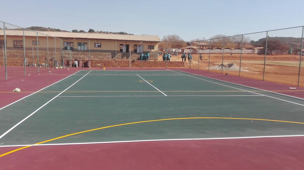 TENNIS COURTS RESURFACING
