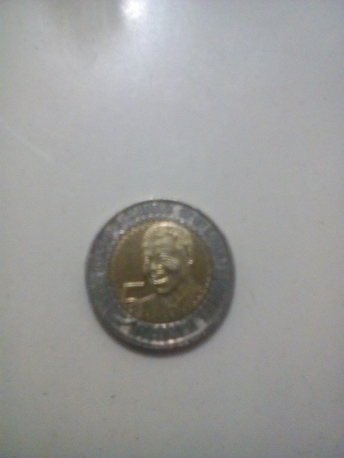 Sell R5 coin 2018'mandelas head