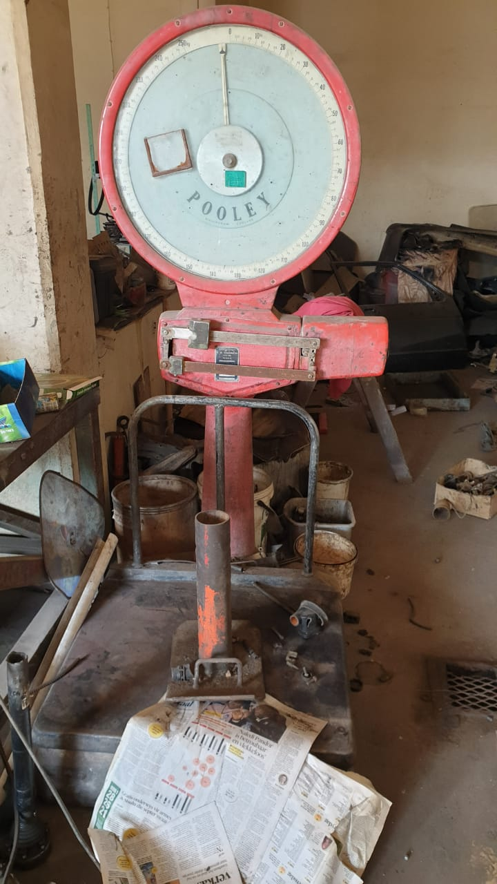 Clearance sale on machinery