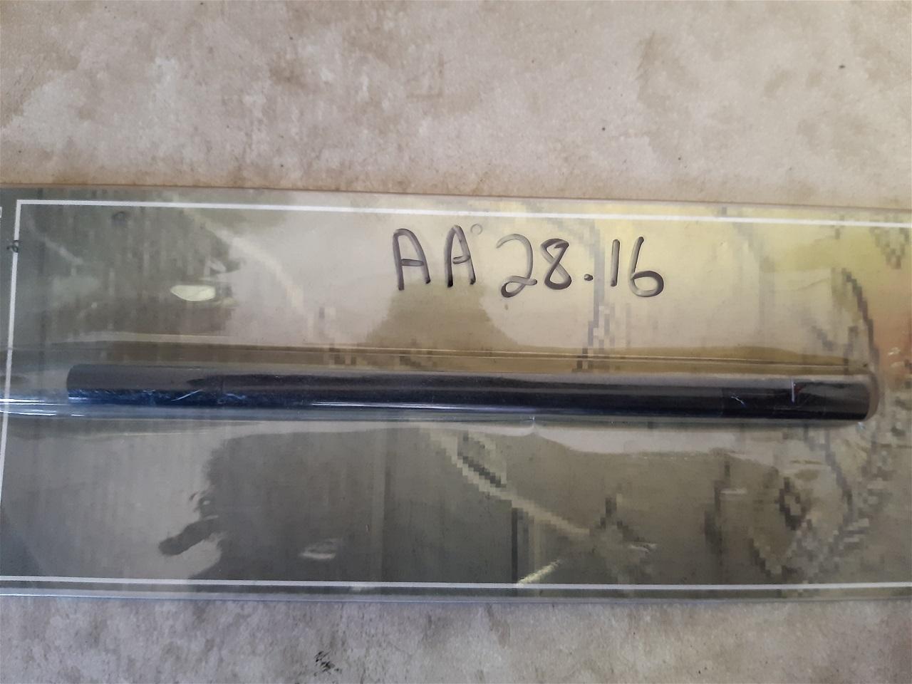 AA28.16 gear shift rod alloy Honda CBR 929/954 , Kawasaki ZX 6 RR Black