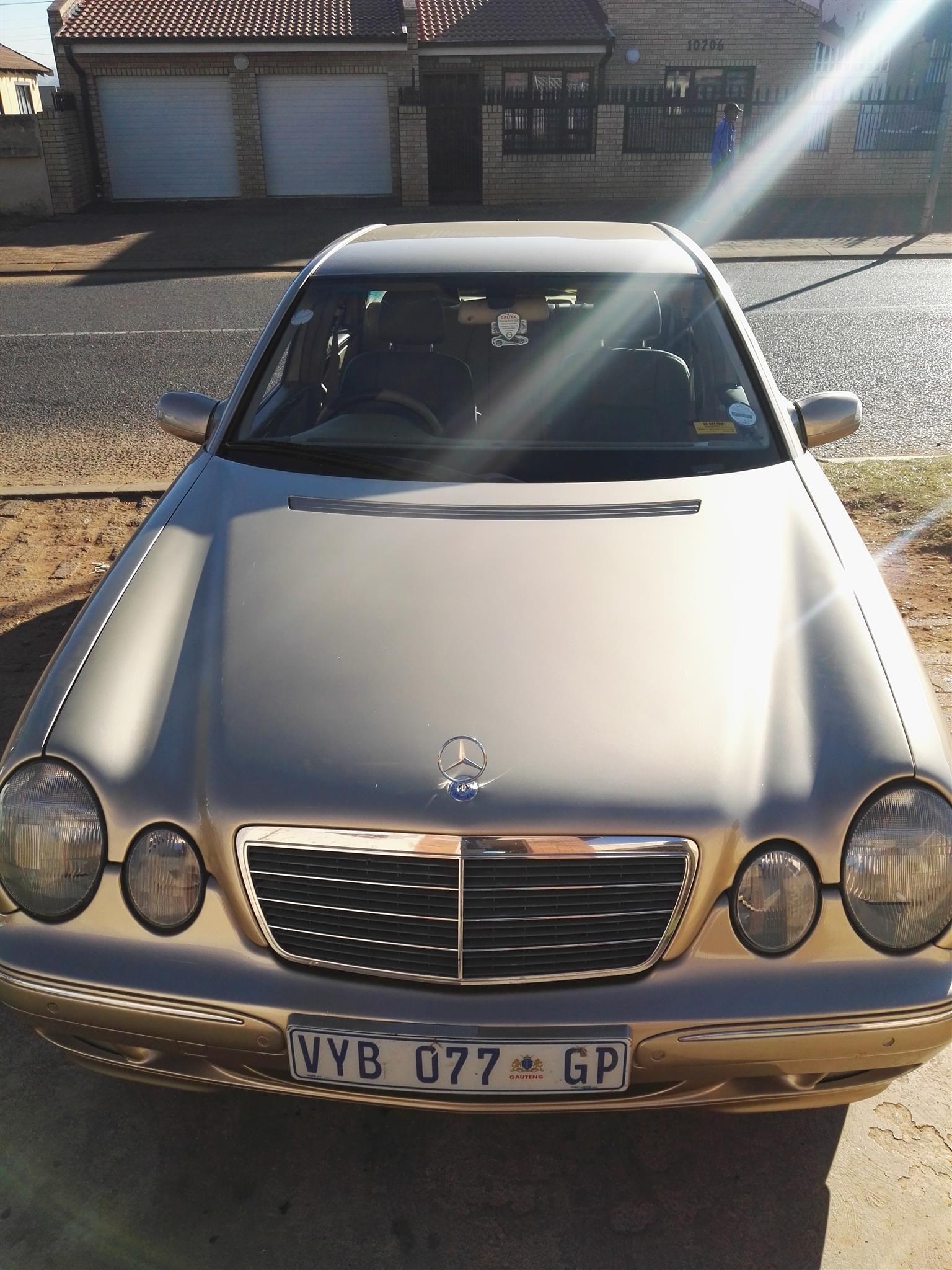 2003 Mercedes Benz E-Class E300 cabriolet