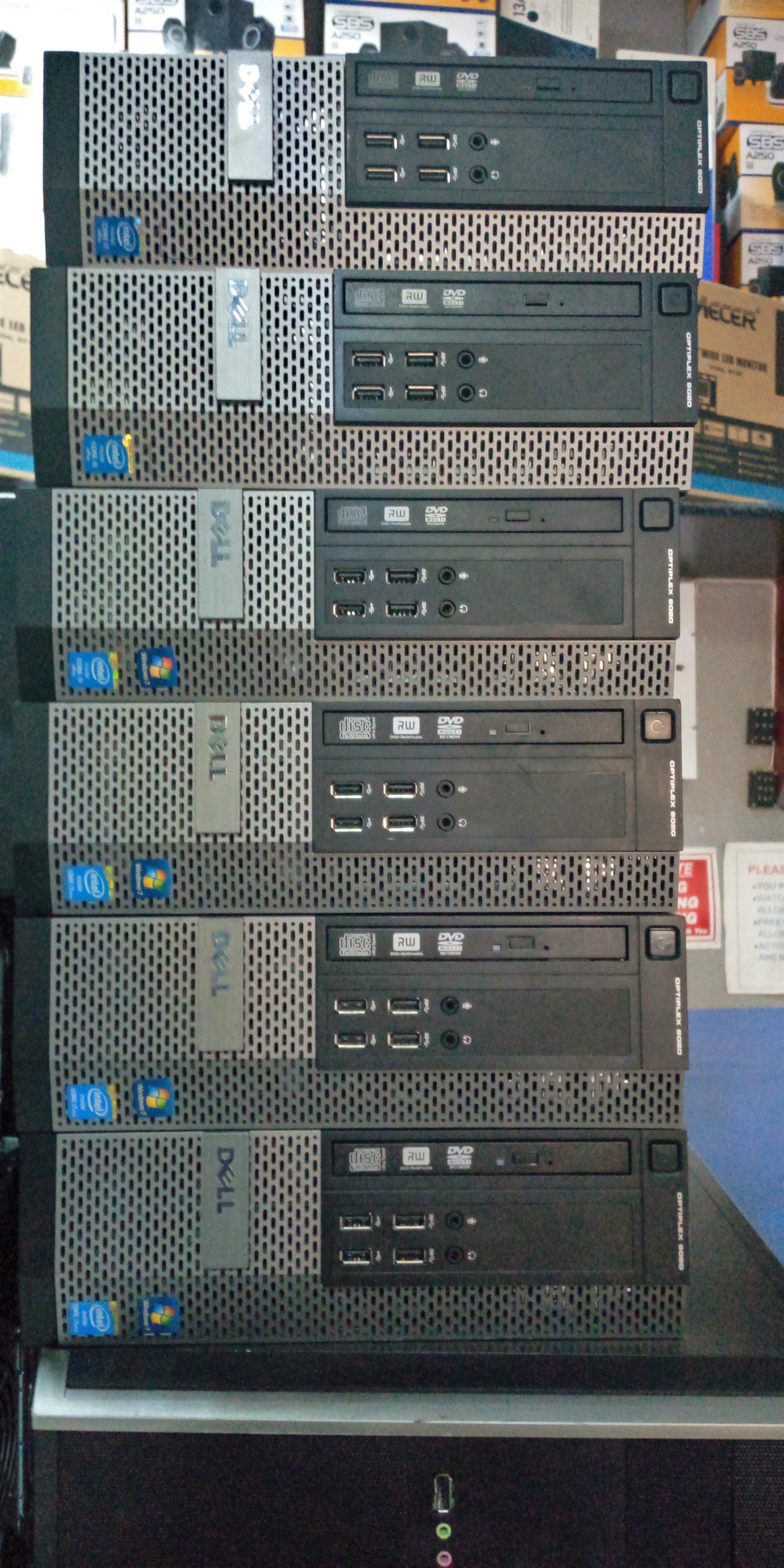 Dell optiplex 9020 SFF core i5 4th gen 4GB Ram 250gb HDDwindows 7 pro