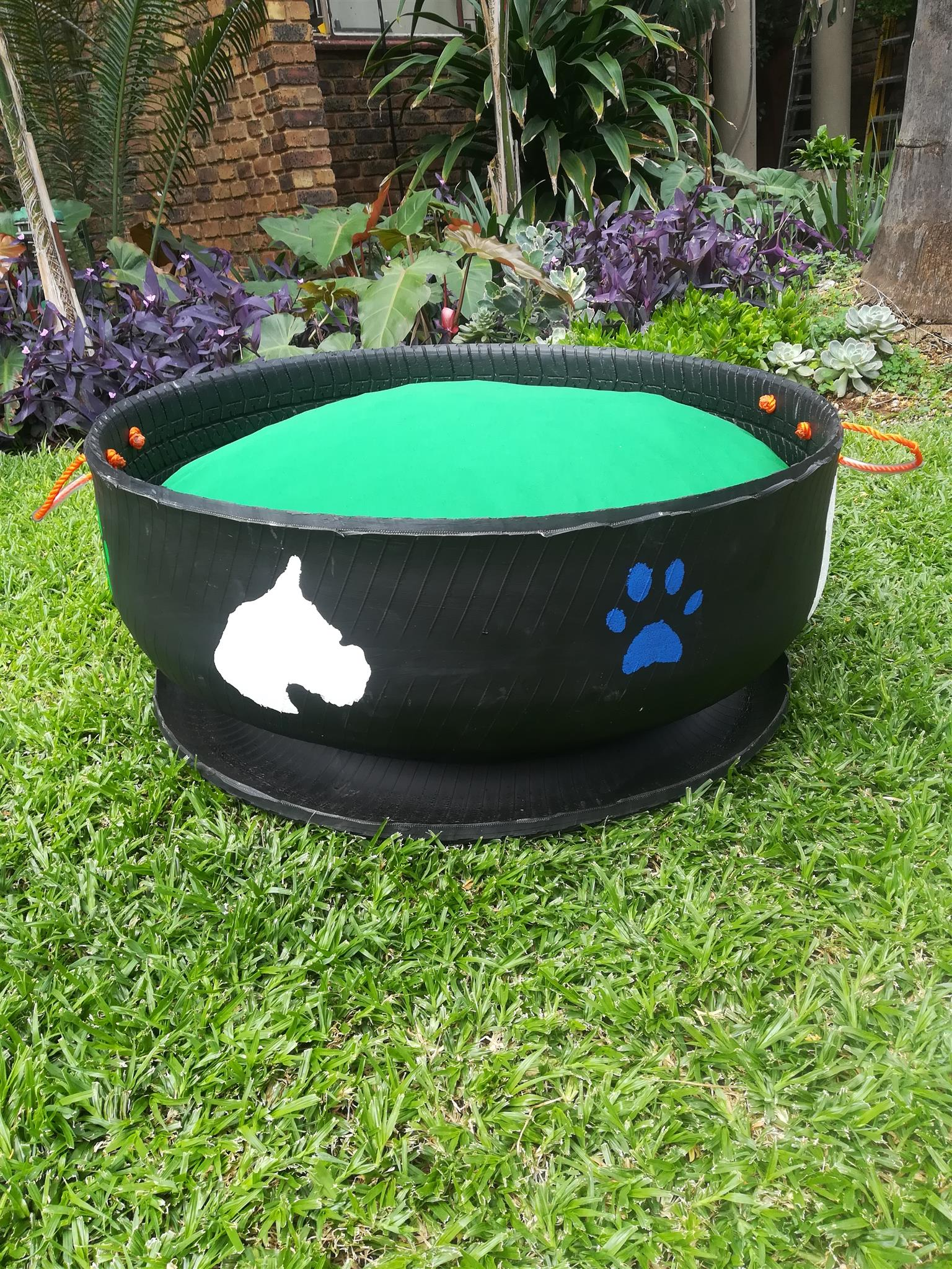 Tyre Dogs Beds