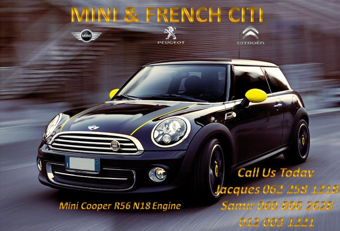 Mini Cooper N18 R56 Engine For Sale Junk Mail