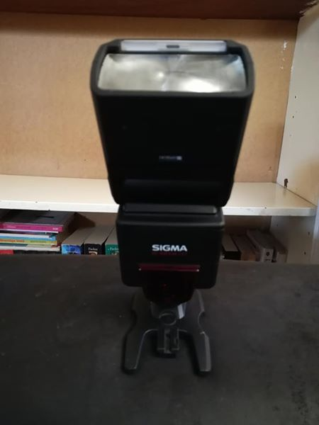 Sigma external flash vir Canon kamera