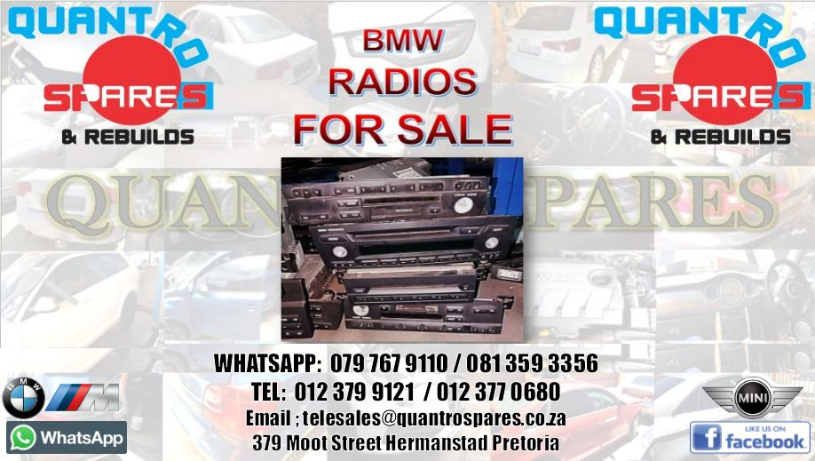 bmw radios for sale