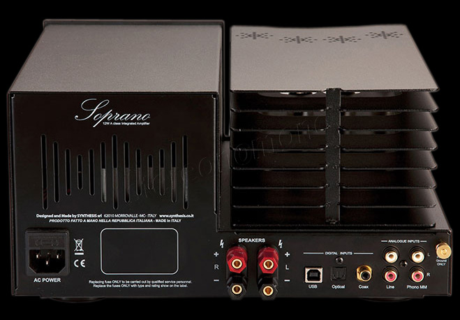 SYNTHESIS SOPRANO TUBE STEREO INTEGRATED AMPLIFIER