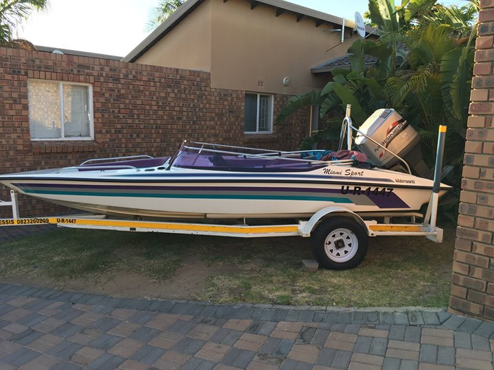 Miami Sport with 125HP Mariner