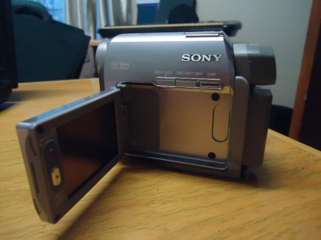 Dataprojector (Panasonic); Sony Video Camera; Sony Digital Camera,