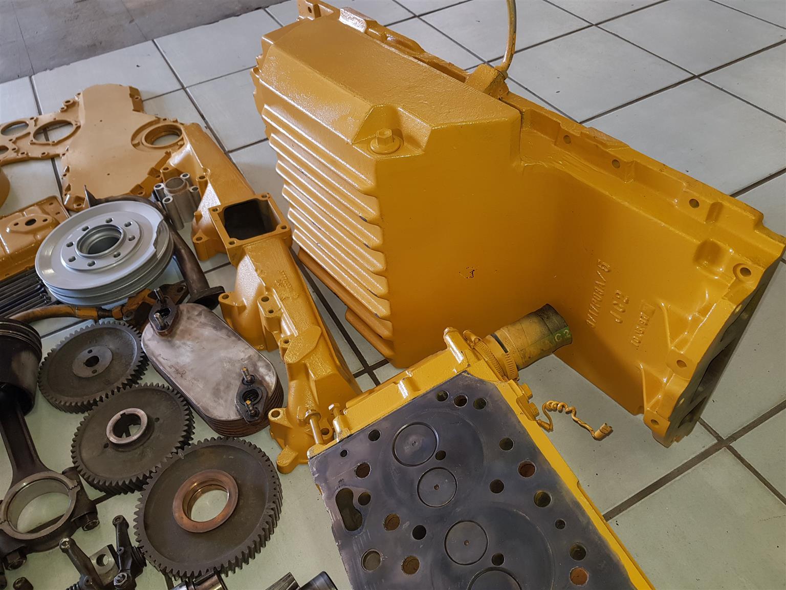 Perkins 1006 Caterpillar 3056 Engine For Spares Junk Mail