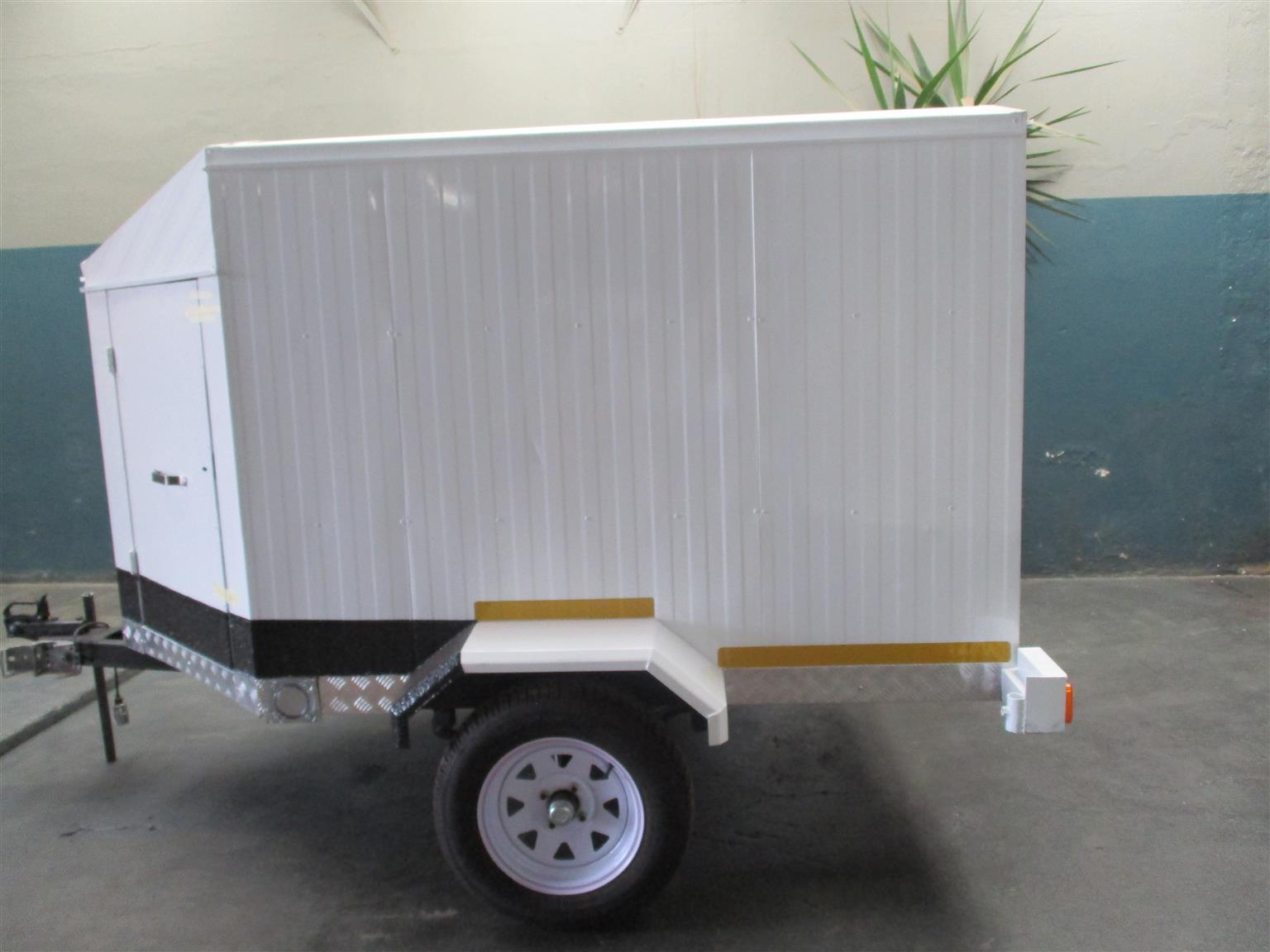 Closed Luggage Trailer - 2.5M Length X 1.3M Width X 900MM High