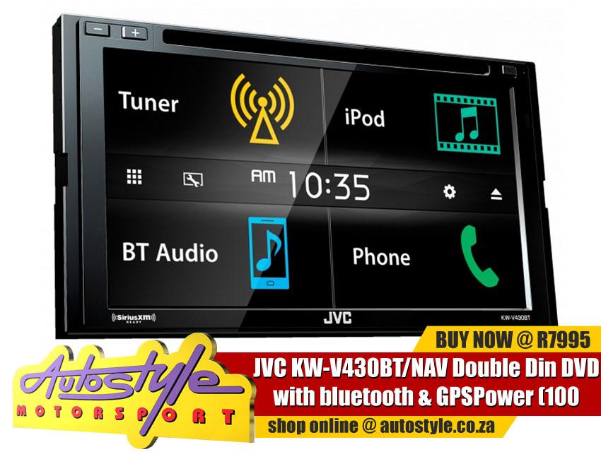 JVC KW-V430BT NAV Double Din DVD