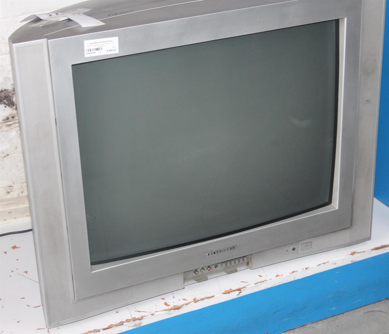 Telefunken 74cm tv with remote S042879P #Rosettenvillepawnshop