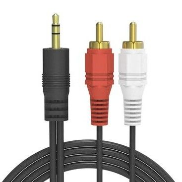 Aux to Audio RCA Cable